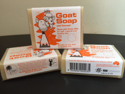 [Discontinued] Goat Milk Soap Oatmeal 100g