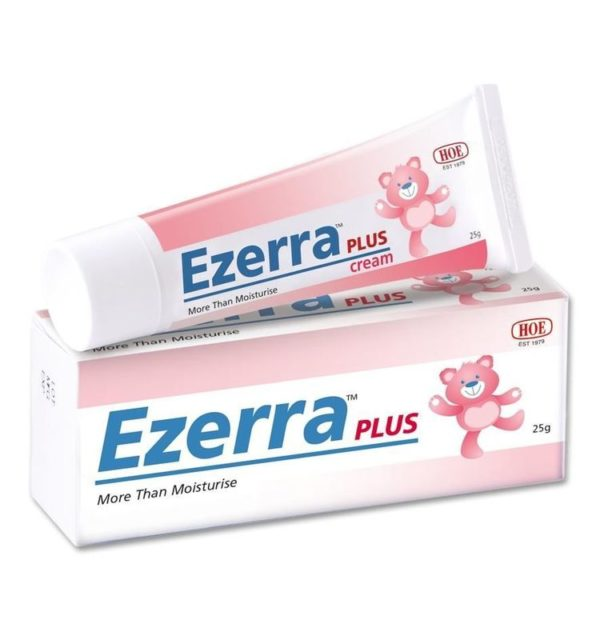 Ezerra Plus Cream 25g available at Skinshare Singapore with free delivery