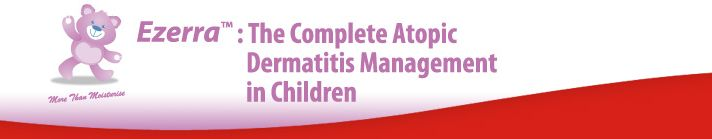 Ezerra: The complete atopic dermatitis management in children - buy at Skinshare.sg Singapore