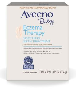 Aveeno® Eczema Therapy Soothing Bath Treatment