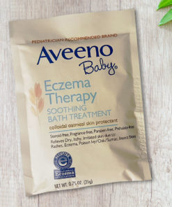 Aveeno® Eczema Therapy Soothing Bath Treatment 1 x 21g sachet