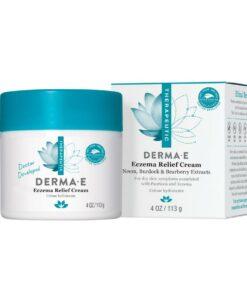 [Clearance Exp 08/22] Derma E – Eczema Relief Cream 113g