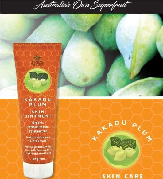 Kakadu plum skin ointment for eczema