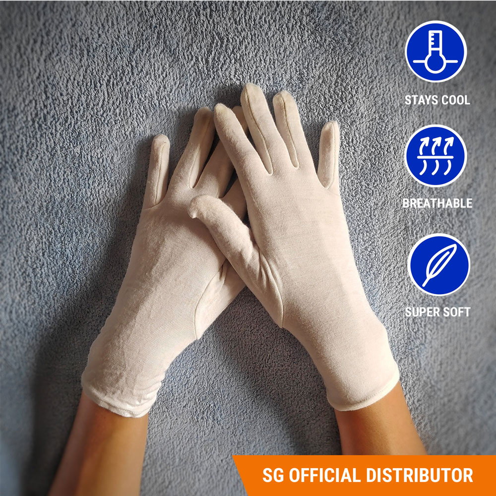 Singapore distributor bamboo eczema gloves