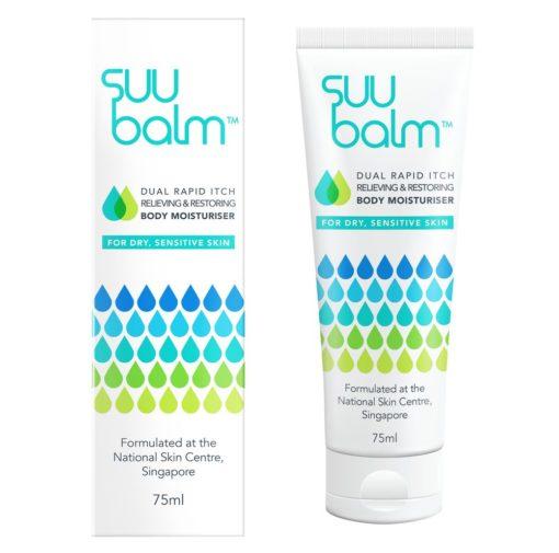 [Twin Bundle] Suu Balm™ Rapid Itch Relieving Moisturiser (75ml) x 2