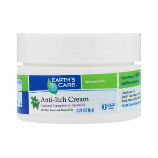 Earth's Care Anti-Itch Cream, with Shea Butter and Almond Oil (6g)