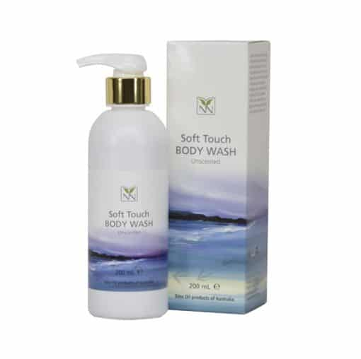 [Bundle Offer] Y-Not Natural Soft Touch Body Wash, Emu oil and Natural Oil Blend – Unscented (200ml) x 2