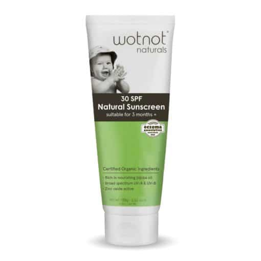 Wotnot Naturals Baby Sunscreen SPF30 (100g)