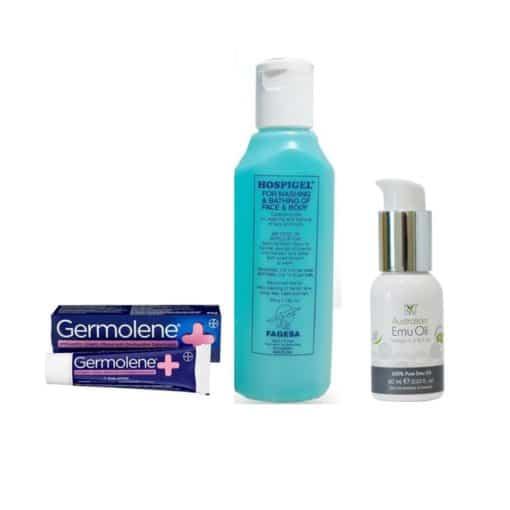 Eczema/Sensitive Skin Wound Care Set