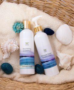 [Natural Haircare Set] Y-Not Natural Nourishing Shampoo & Moisture Repair Conditioner