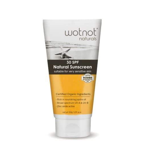 Wotnot Naturals Sunscreen SPF30 (150g)
