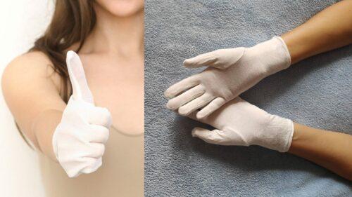 bamboo eczema gloves