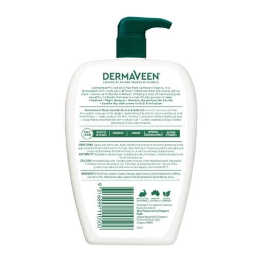 Dermaveen Shower & Bath Oil 500ml