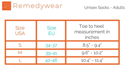 Remedywear Adult Eczema Socks (Tencel + Zinc)
